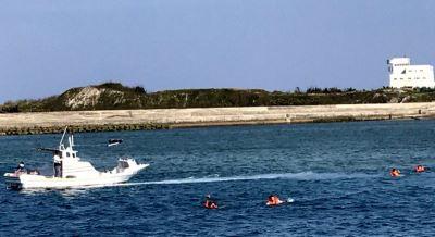 澎湖海上休憩活動多 加強救難救生演練