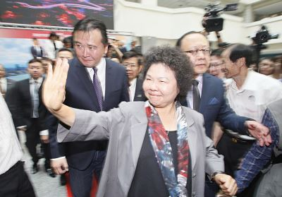 輔選蘇貞昌 陳菊:清楚政務官分際