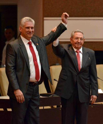 古巴新總統上任 誓言捍衛卡斯楚革命[影]