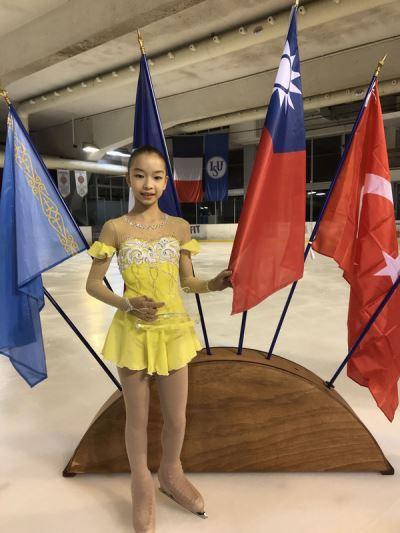 台灣花滑少女新星丁子涵 在法出賽奪冠
