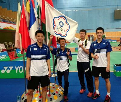 台灣中學羽球隊  印度世中運奪冠