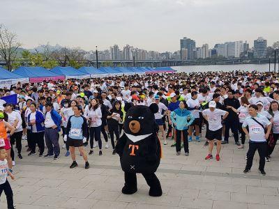 韓汝矣島馬拉松賽  行銷台灣旅遊