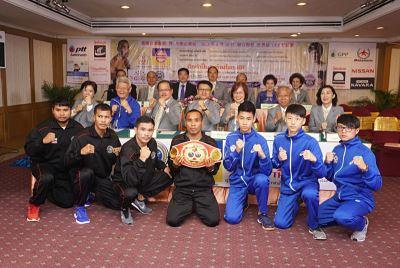 泰國台灣會館將辦拳擊賽 增進台泰交流