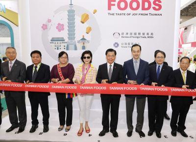 新加坡國際食品展  台灣館清真產品吸睛
