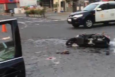 開車與機車擦撞  台南市警局長:會負責