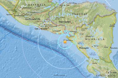 規模5.6地震襲尼加拉瓜外海 暫無災情