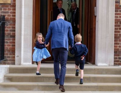 夏綠蒂公主探視弟弟 王室招牌揮手萌翻了