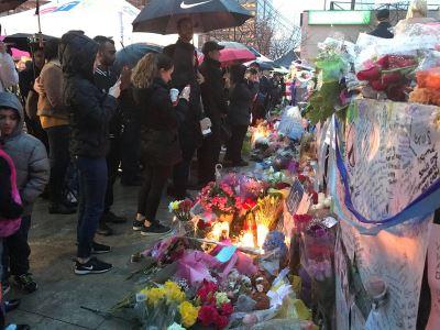 多倫多市民湧向北約克 悼念遭衝撞死難者