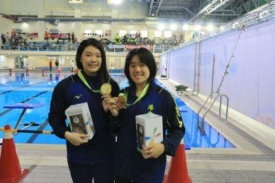 陳俞蓉50蝶泳破全國 亞運青奧雙達標