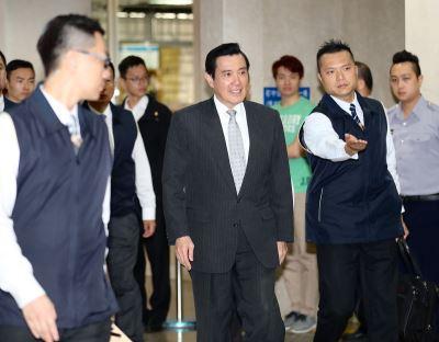 馬英九庭後批評 北檢開記者會反擊