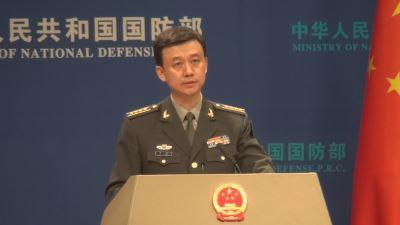 共機繞台  中國國防部宣稱對台獨