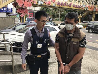監視器追蹤定位  桃園警逮竊盜慣犯
