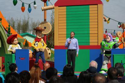 迎戰5/1 上海迪士尼玩具總動員園區開幕