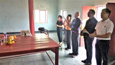 駐印度代表處蘭伽公墓春祭 中國干擾未果