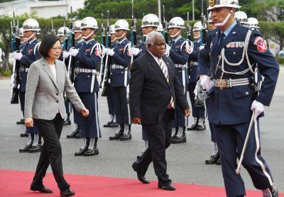 索羅門將在WHA為台灣發聲 蔡總統感謝
