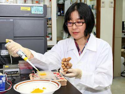 光驅動薑黃治癌 中正大學副教授取得專利