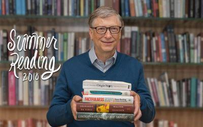 今夏該讀的5本書 比爾蓋茲公布書單