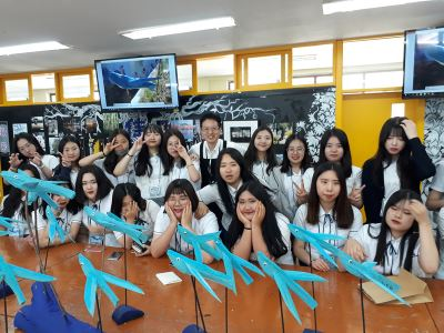 漢城僑中與論山女商 慶祝姊妹校33週年