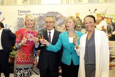 駐加代表處台灣之夜 感謝相挺參與WHA