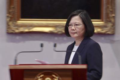 布國斷交 總統重話批在野黨容忍中國打壓