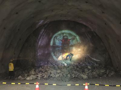 蘇花改中仁隧道施工環境差 悶熱連坑夫都受不了