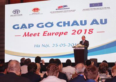 越南與歐洲相遇會議  聚焦自由貿易協定