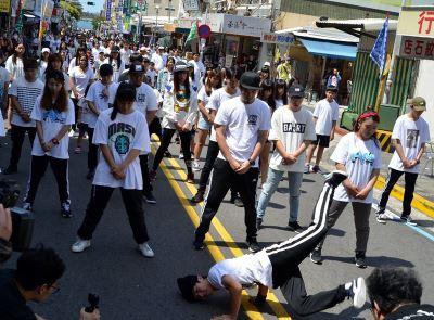 菊島盃全國街舞賽  馬公封街熱舞快閃吸睛
