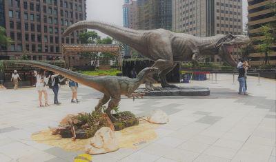 侏羅紀公園25週年 擬真暴龍台北現蹤