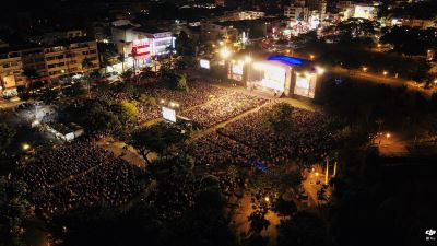 綠光野台人間最終場  屏東近2萬觀眾共享人間狂潮