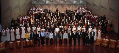 總統府音樂會 總統盼民眾對土地感情更深