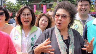 陳菊指兩岸關係氛圍沉重 憂未來發展
