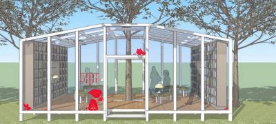森林中徜徉書海 台中花博打造森林圖書館