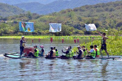 勿忘大坡池  池上國中傳承划竹筏技藝