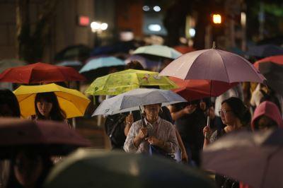 雨勢增強 10縣市豪雨或大雨特報