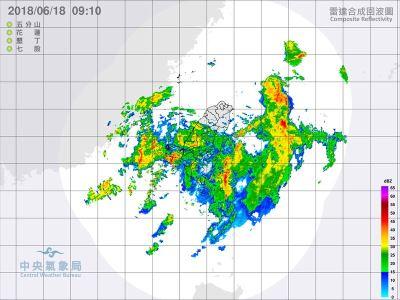 南台灣雨勢持續 第7號颱風巴比侖可能形成