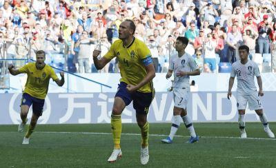 格蘭奎斯特12碼罰球建功 瑞典1比0勝南韓