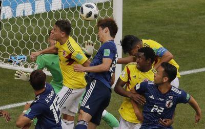 世足賽大迫勇也頭槌破網 日本2比1勝哥倫比亞