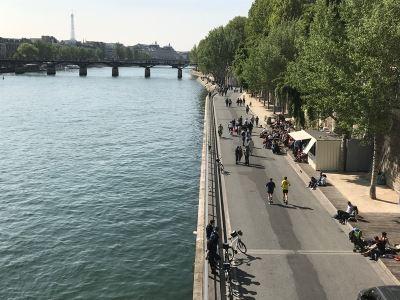巴黎整治塞納河 拚2024奧運可游泳