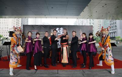 台灣國樂團與九天同台獻演陣頭傳奇