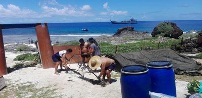 菲北無人島建多用途設施 最快8月完工