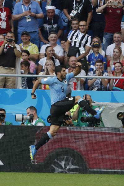 烏拉圭1比0勝沙烏地 攜手俄羅斯晉世足16強