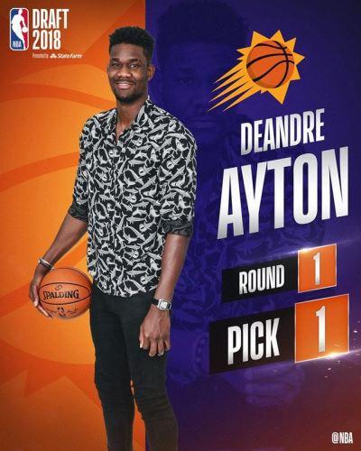 NBA選秀  艾頓獲選狀元