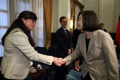 總統:中國打壓力道增加 台灣續與美國合作