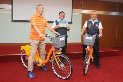 苗栗微笑單車將上路 一年優惠前半小時免費
