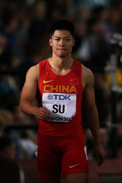 百米9秒91 中國蘇炳添成為跑最快的黃種人