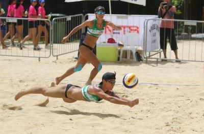 世界沙灘排球巡迴賽 台灣女將止步8強