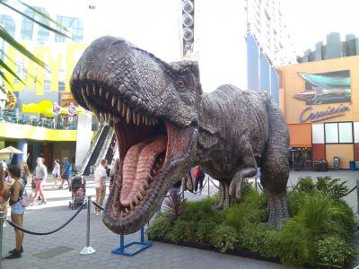 粉絲狂追侏羅紀 卻說看到真恐龍就要跑