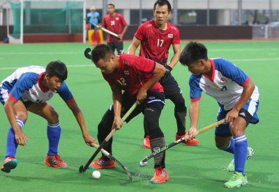 曲棍球聯賽第一級賽事 台灣首戰泰國失利