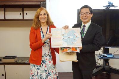 華府智庫學者團到台南 多方對談了解台灣觀點