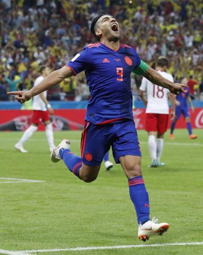 J羅率哥倫比亞猛攻 波蘭世足16強夢碎